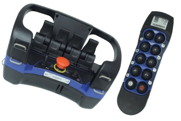 Scanreco G4 proportional radio remote control