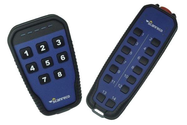 Scanreco G5 digital radio remote control