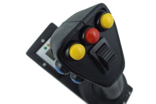 joysticks sobre dos o tres ejes para