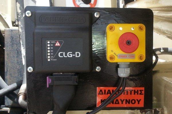 LimItadores de carga CLG instalados