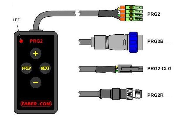 Tastierino di programmazione prg2 Faber-Com