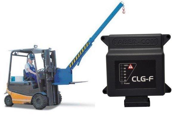 limiteurs de moment CLG-F pour chariots élevateurs avec bras grue - CLG-F load moment limiters