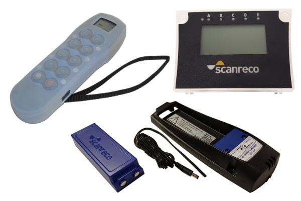 radiocommandes et télécommandes - pièces détachées Scanreco